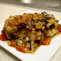 7-9: Hunter's-Style Pork Chops