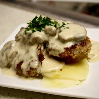7-1: Pork Tenderloin with Mushrooms