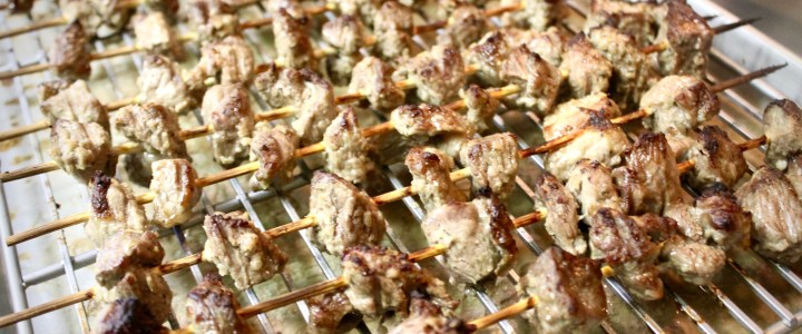 10-14: Lamb on Skewers