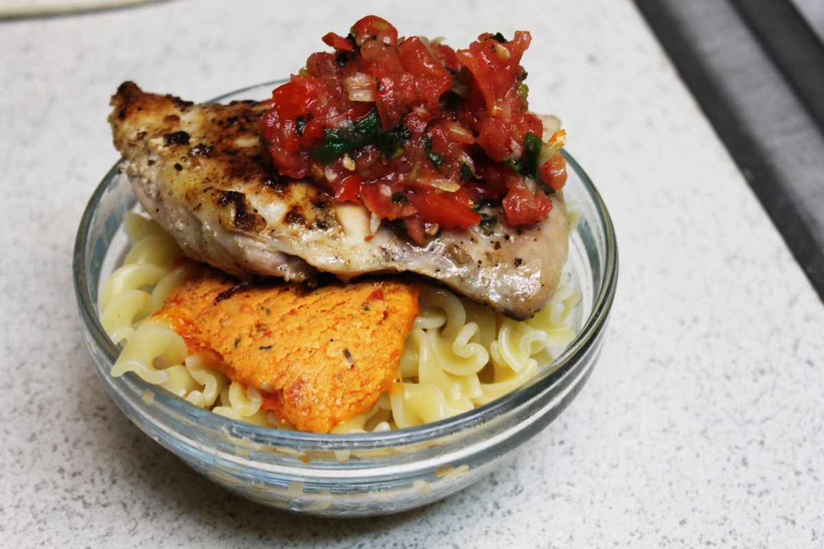 6-41: Chicken Breasts with Tomato Salsa