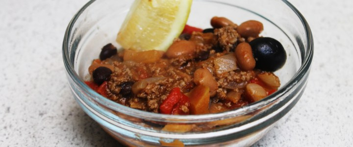 9-37: Ground Meat and Bean Dinner