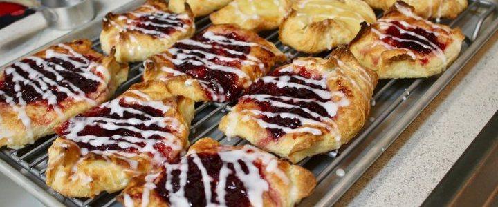 17-44: Homemade Danish Pastries
