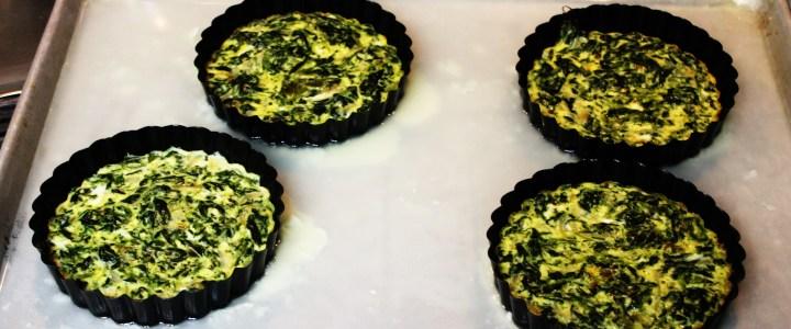 4-10: Spinach-Mushroom Ring