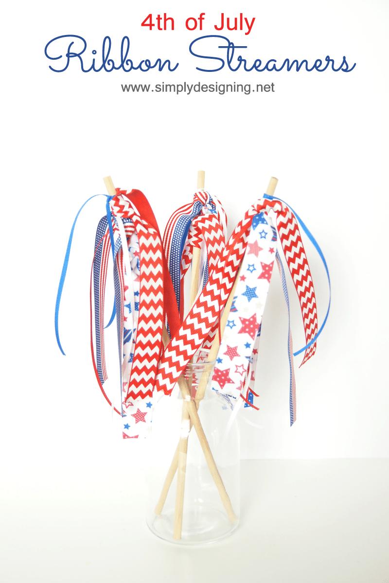 4th Of July Ribbon Streamers RibbonHOA Simply Designing