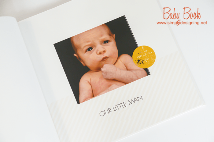 Baby Book from Shutterfly