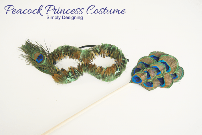 Peacock Princess Costume | #costume #halloween #peacock