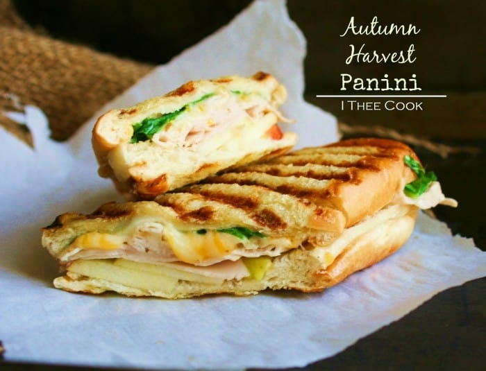 Autumn Harvest Panini