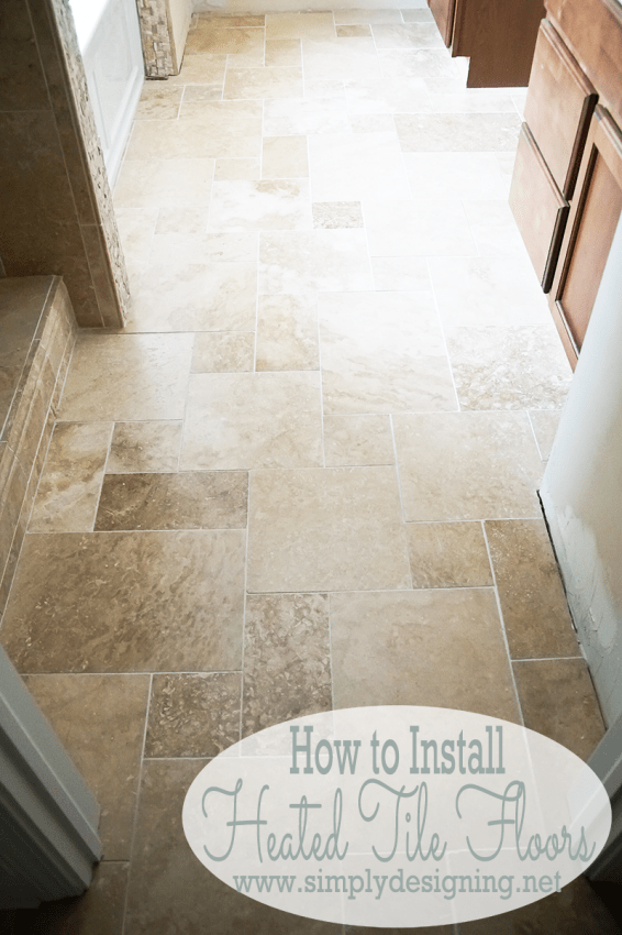 How To Install Heated Tile Floors