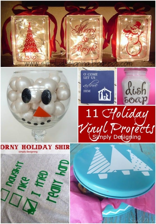 11 Holiday Vinyl Projects