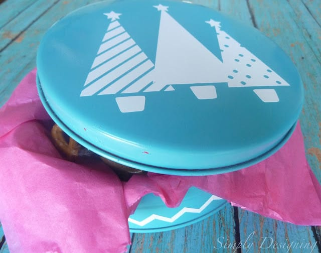 Upcycled Holiday Tin
