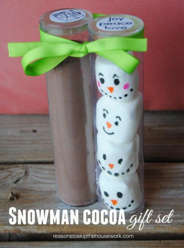 Snowman Cocoa Gift Set