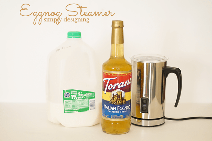 Eggnog Steamer Ingredients