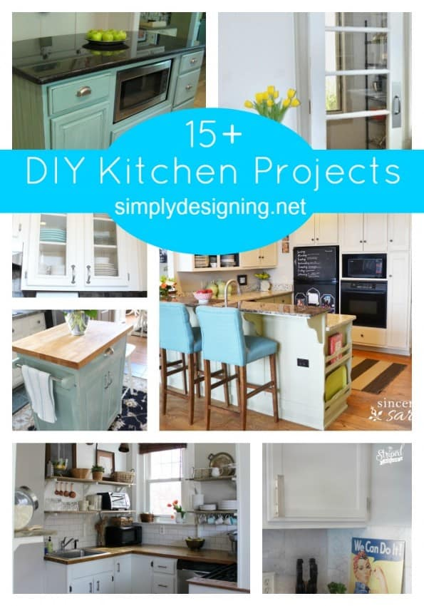 15 DIY Kitchen Projects Collage