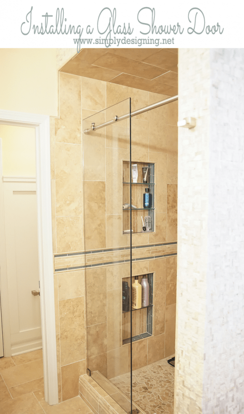 Wonderful How To Install A New Shower Door