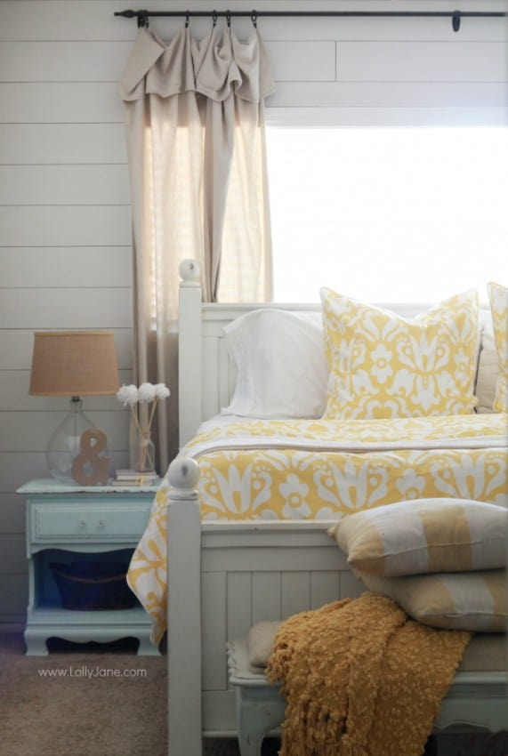 Yellow Master Bedroom