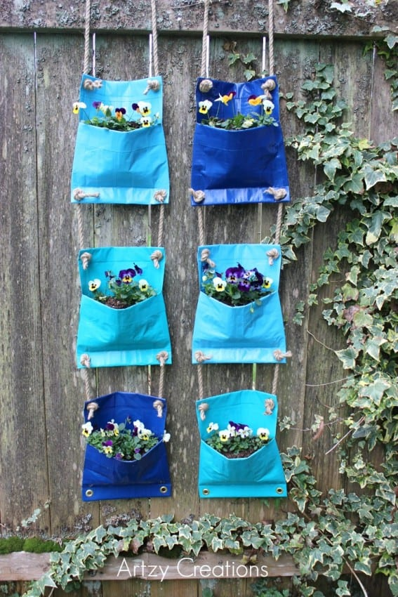 Duck-Tape-Plant-Pockets-Artzy-Creations-3