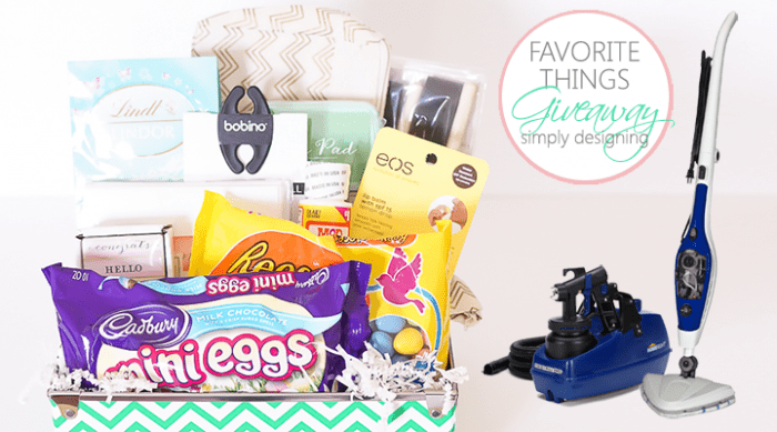 Favorite Things Giveaway Easter Edition