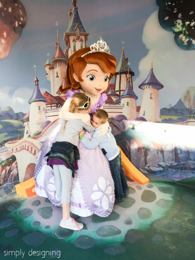 Princess Sofia at Hollywood Studio