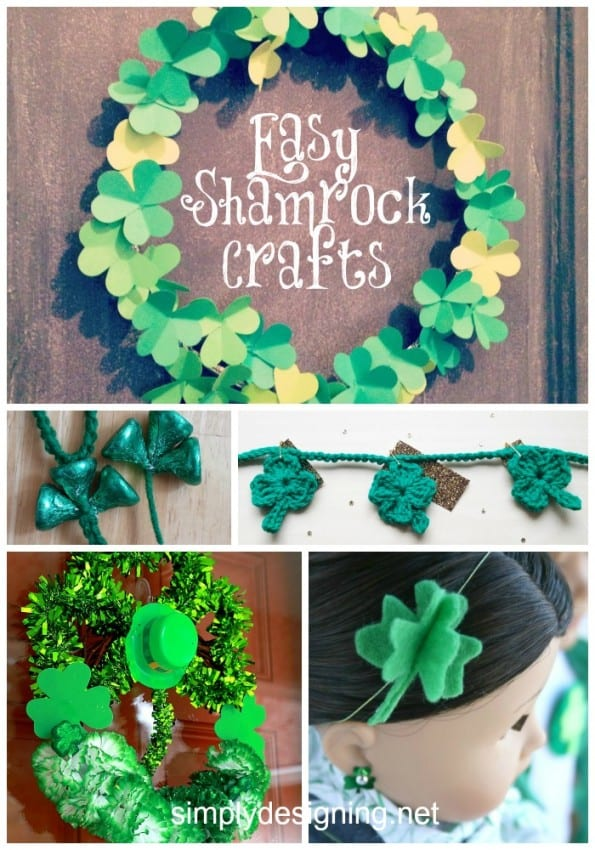 Easy Shamrock Crafts