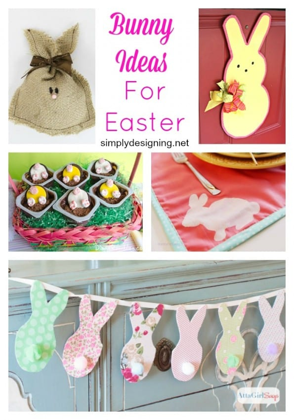 Bunny Ideas perfect for Spring or Easter