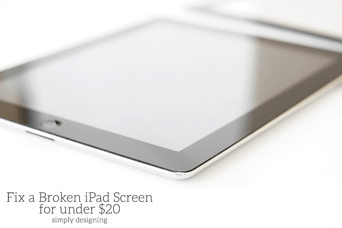 How to Fix a Broken iPad Screen