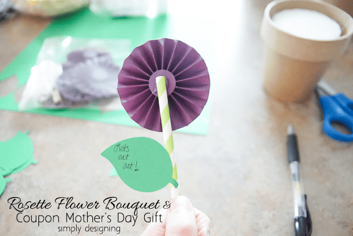 Mothers Day Rosette Flowers with Coupons