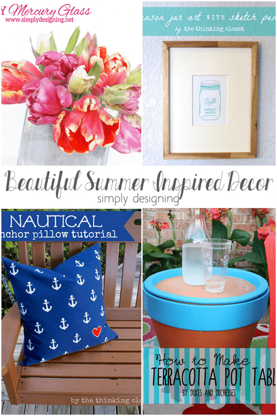 Beautiful Summer Inspired Decor Ideas