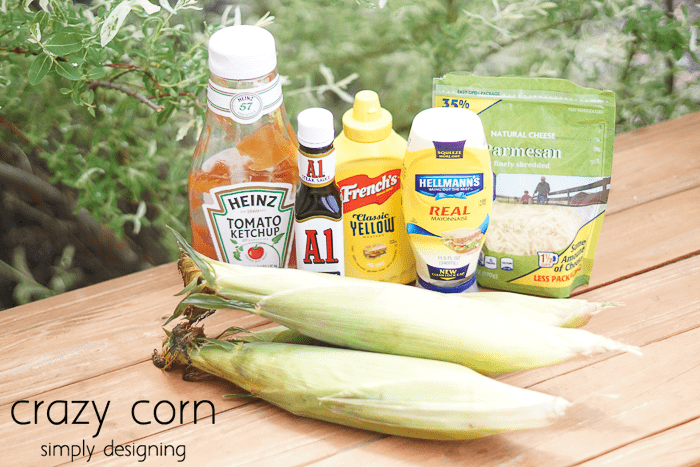 Crazy Corn Recipe Ingredients