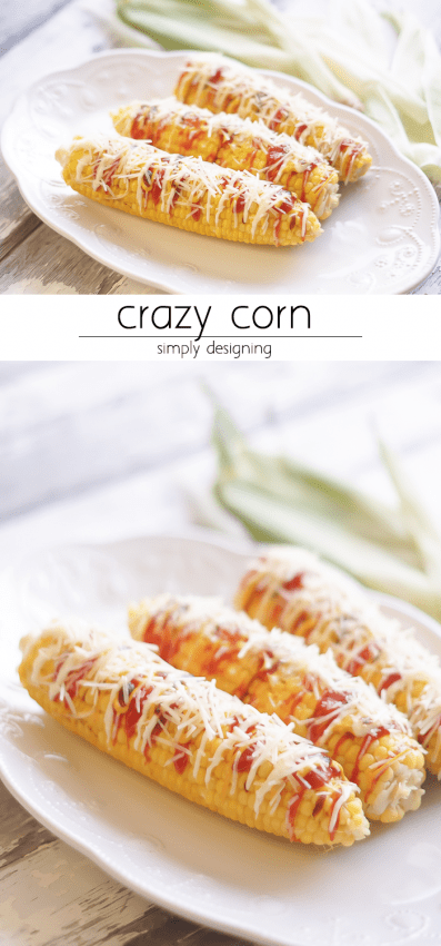 Crazy Corn Recipe - this is a real El Salvadorian treat - you'll never want to eat corn on the cob any other way