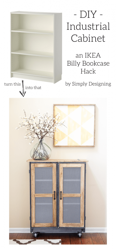 DIY Industrial Cabinet Hack