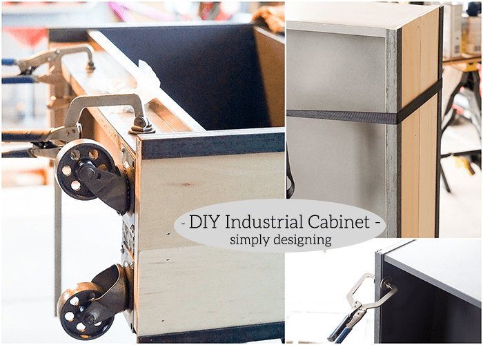 Industrial Cabinet - add iron details