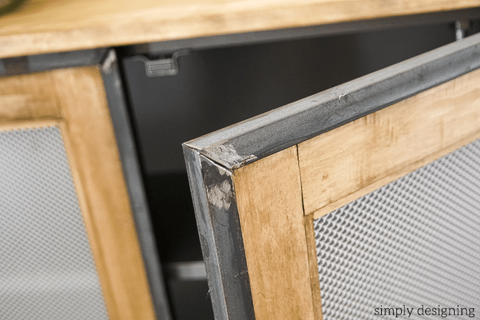 Industrial Cabinet - angle iron