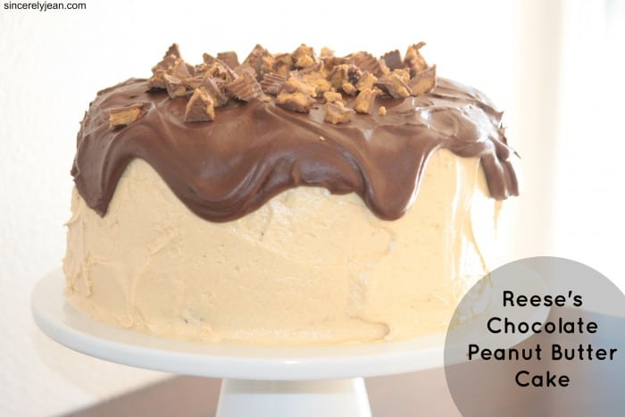 reeses chocolate peanut butter cake