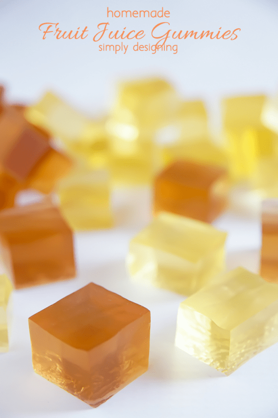 Homemade Fruit Juice Gummies-simple and delicious