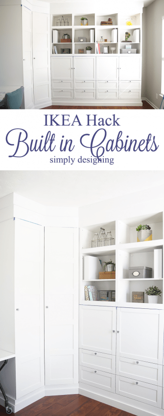 Craft Room Building In Cabinets Part 3 Simply Designing With Ashley