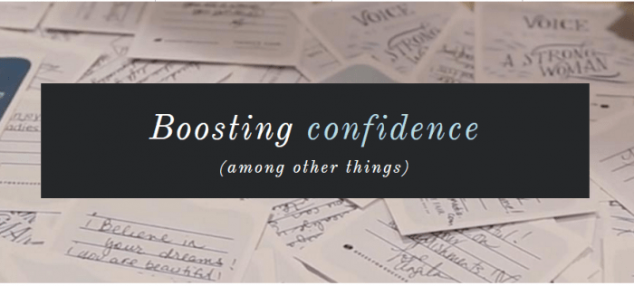 Boosting Confidence