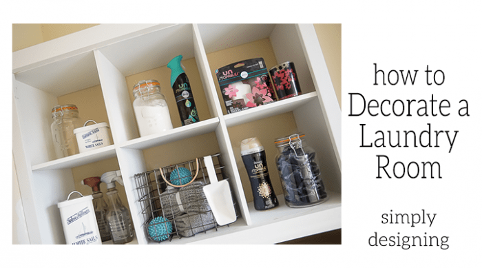 Tips for How to Decorate a Laundry Room - Featured Image