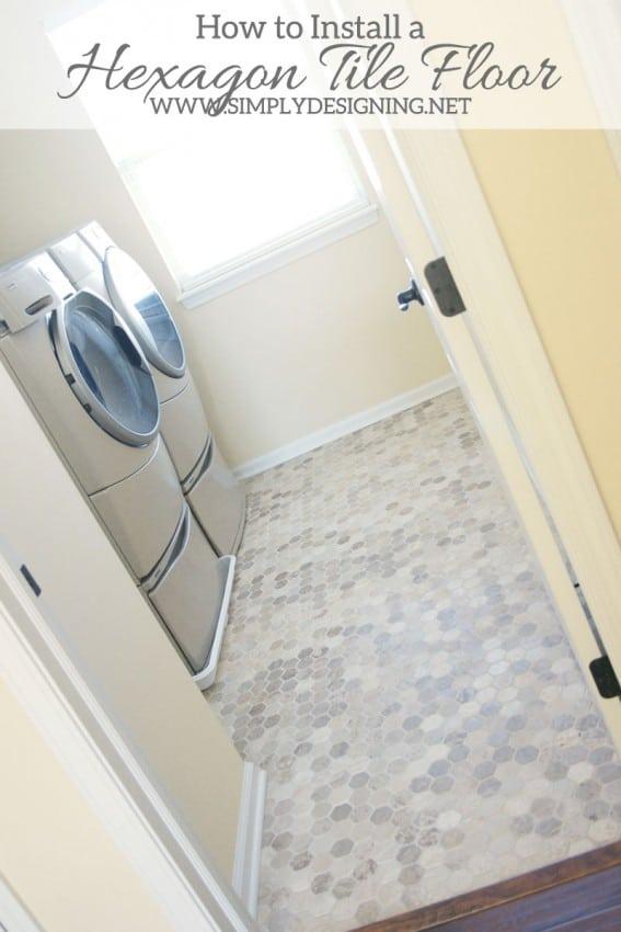 hecagon tile floors