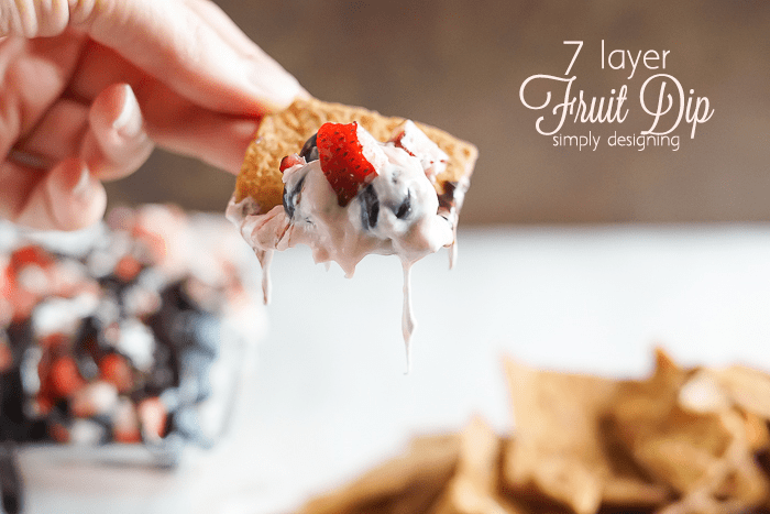 7 Layer Fruit Dip Recipe