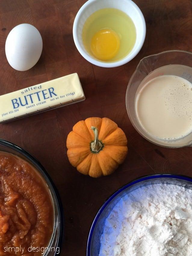 Pumpkin Love Cake Ingredients