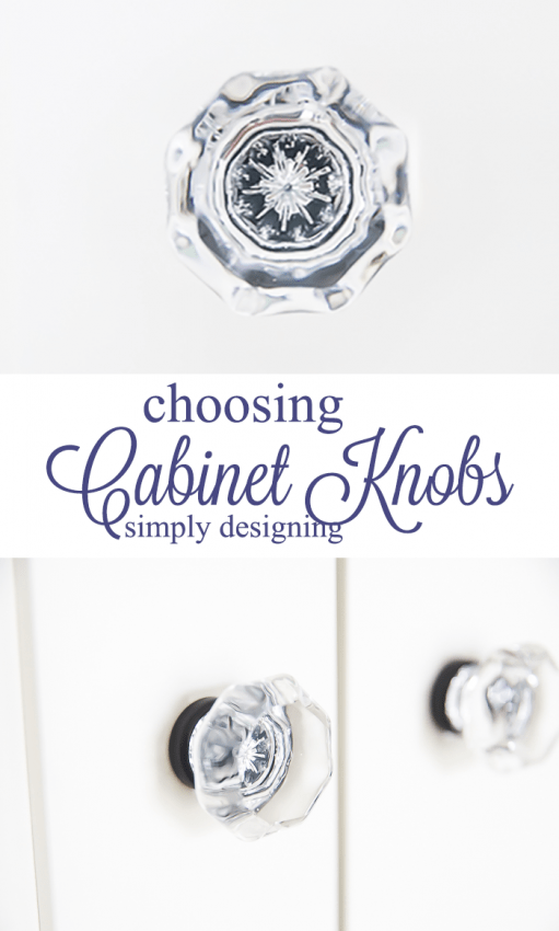 Choosing Cabinet Knobs is such a fun way to add personality to a room