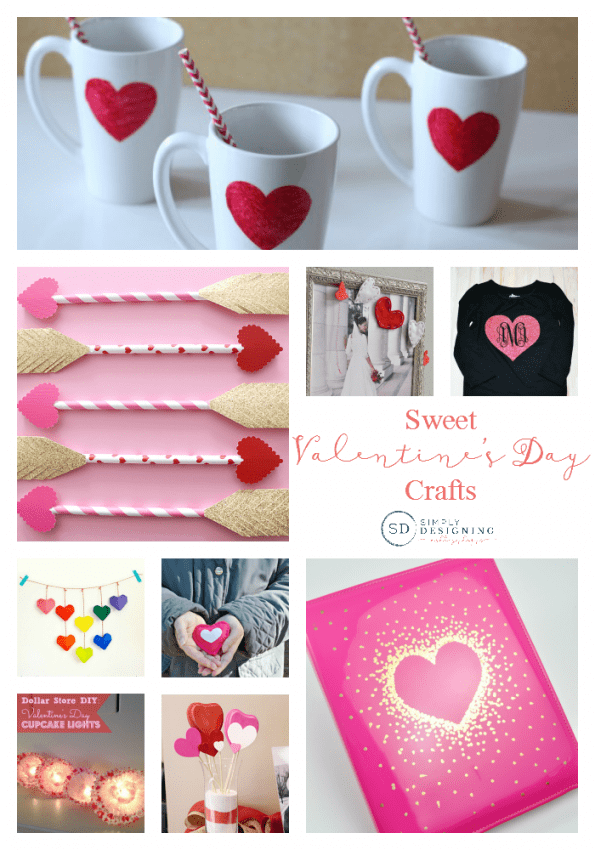 Sweet Valentines Day Crafts Round Up Final