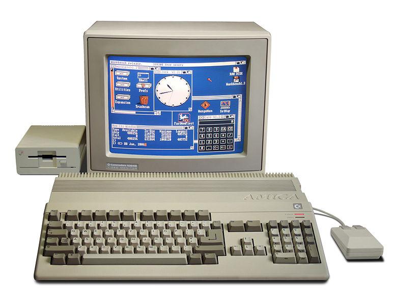 80s Old Retro Computers At Commodore