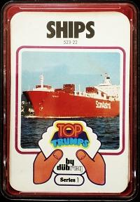 Vintage Top Trumps And Ace Trumps Card Games