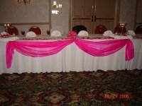Simply Elegant Weddings-Table Swags, Linen rentals, Fort ...