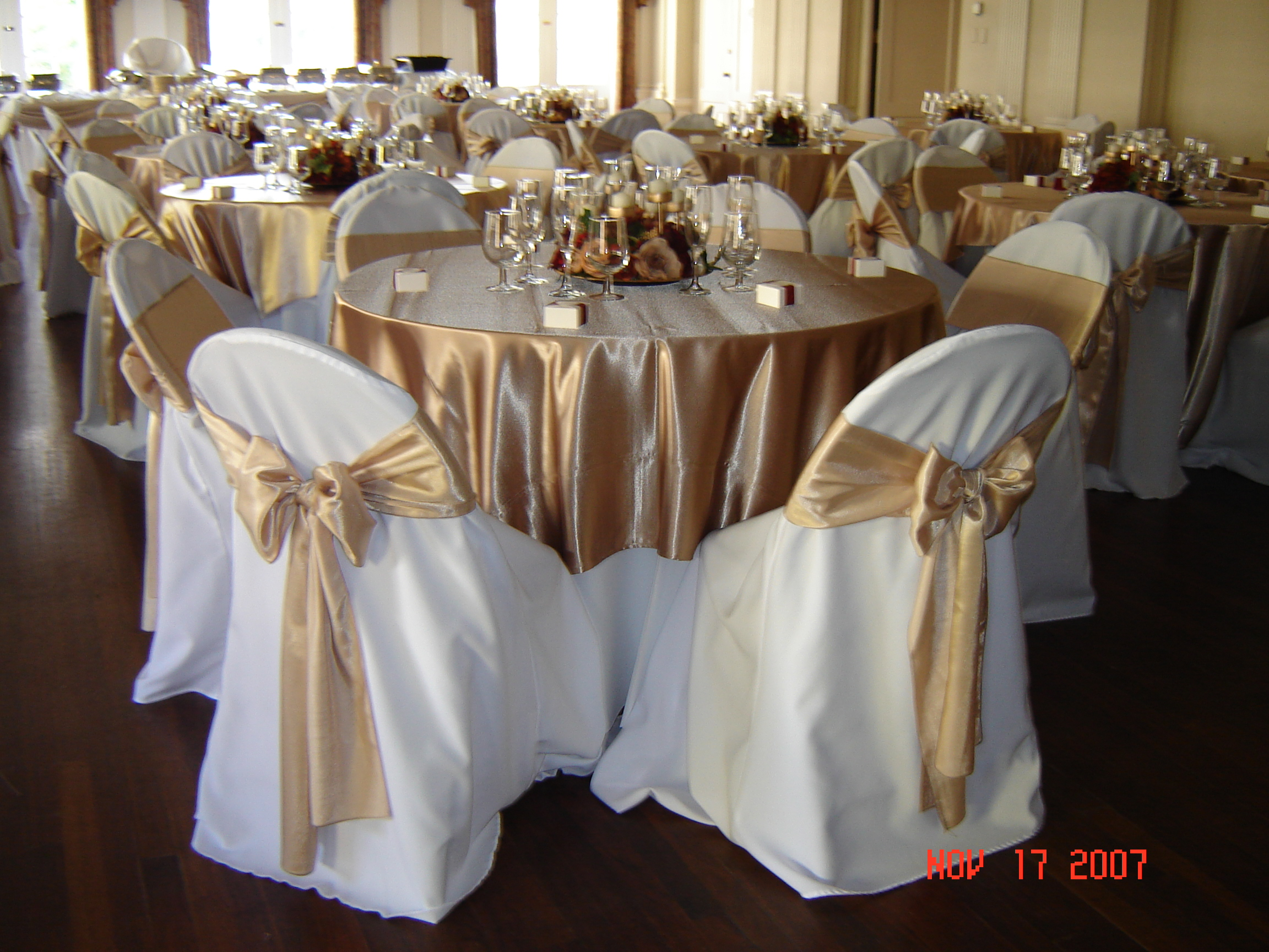 simply elegant chair covers and linens wing back recliner slipcover weddings satin linen rental fort worth