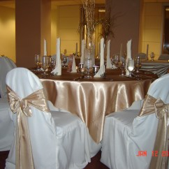 Ivory Chair Covers With Gold Sash Chairs Sashes For Weddings Simply Elegant Cover Rentals Wedding