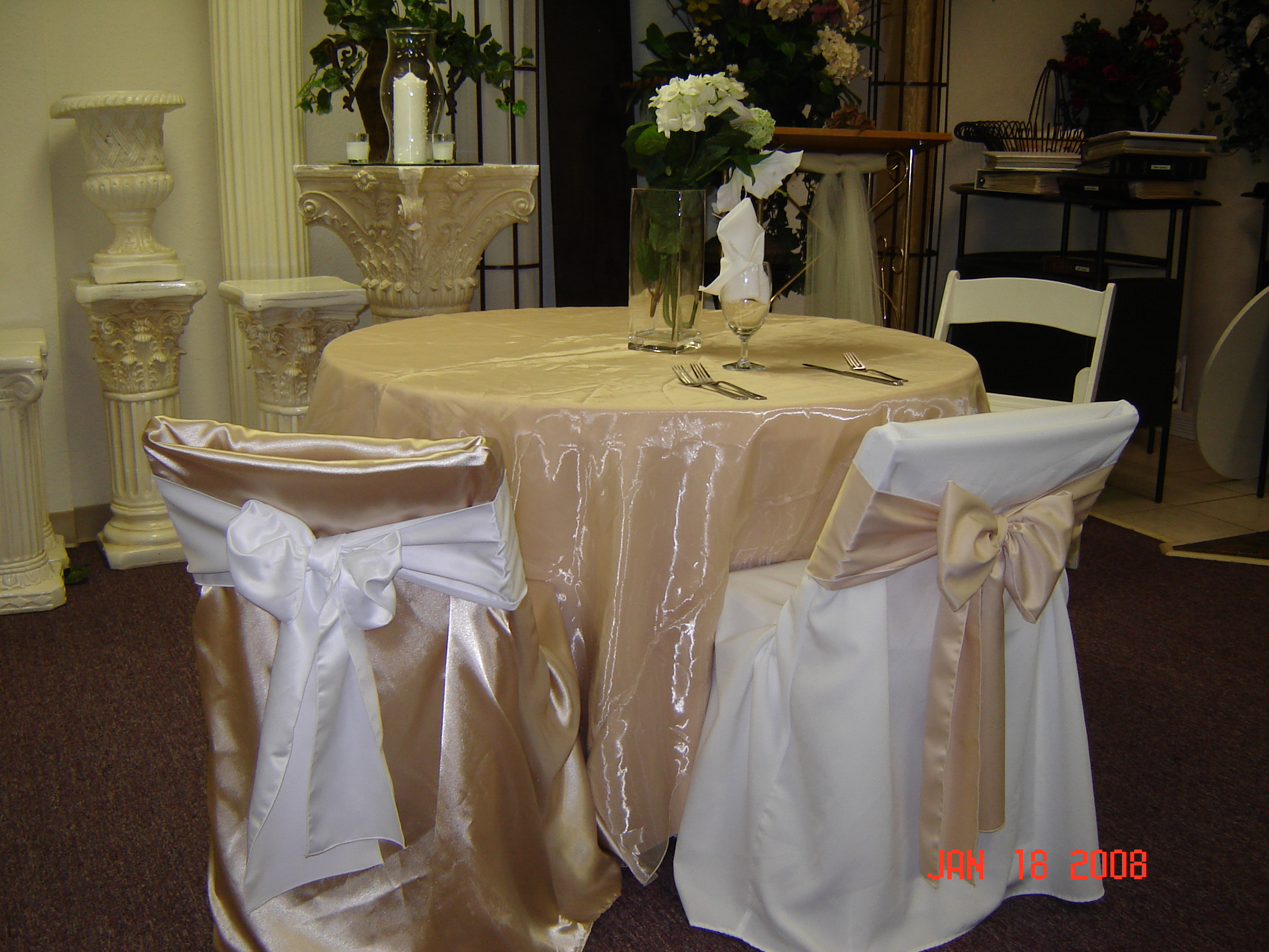 chair cover rentals dallas texas red office staples simply elegant weddings wedding