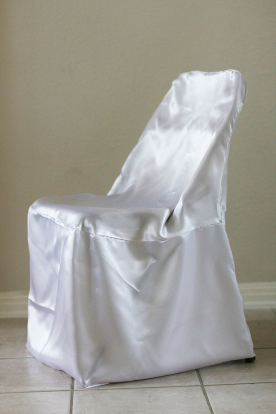 Simply Elegant Weddings Folding Chair Cover Rentals