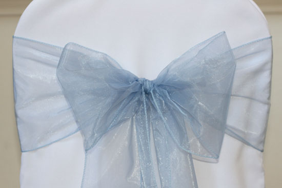how to make chair sashes t cushion slipcovers simply elegant weddings cover rentals, wedding weddings, supplies ...